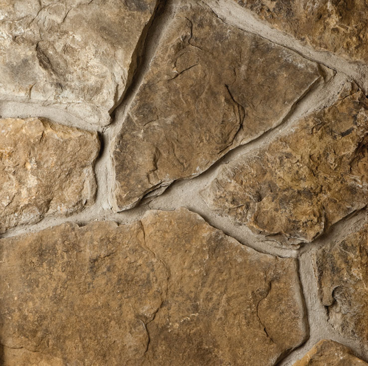 Weathered Fieldstone Webwall